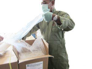 Packing barang kiriman cargo Tiga Permata Ekspres