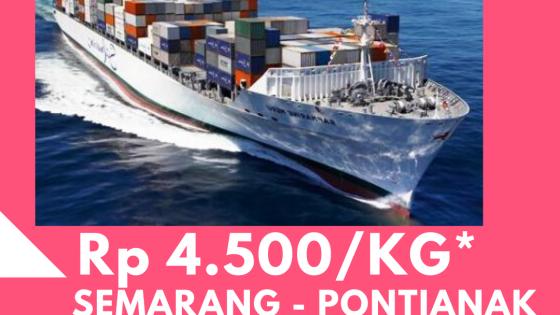 ekspedisi kapal laut semarang pontianak tiga permata ekspres