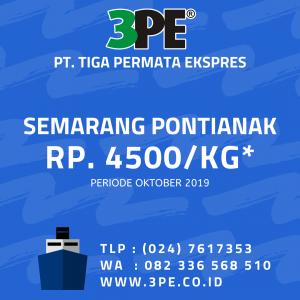 Jasa ekspedisi Semarang Pontianak - Tiga Permata Ekspres