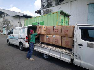 Jasa pengiriman barang via darat Tiga Permata Ekspres
